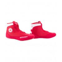 Обувь для борьбы, красный/белый