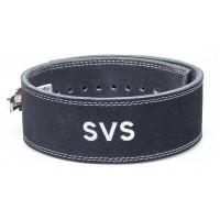 Пояс для тяжелой атлетики с карабином svs black широкий