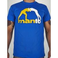Футболка Manto classic blue