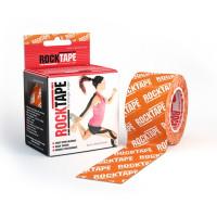 Кинезиотейп RockTape оранжевый логотип