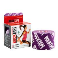 Кинезиотейп RockTape фиолетовый логотип