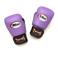 Боксерские перчатки Twins BGVL-3T purple/black