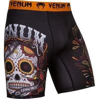 Компрессионные шорты venum santa muerte black