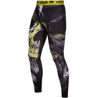 Компрессионные штаны VENUM VIKING SPATS - BLACK