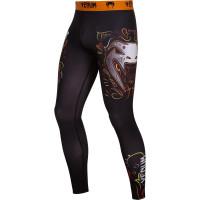 Компрессионные штаны venum santa muerte black