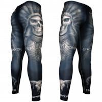 Штаны компрессионные btoperform fy-102k mohawk spirit - black