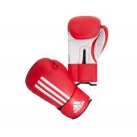 Перчатки боксерские energy 100 красно-белые adiebg100