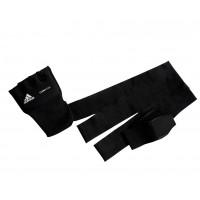 Накладки гелевые с бинтом 2 метра quik wrap glove mexican черные adip012
