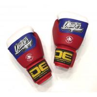 Боксерские перчатки Danger WH/BU/RD