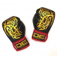Боксерские перчатки Danger BK/RD palm