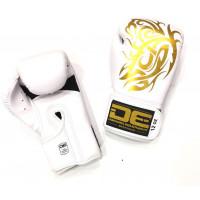 Боксерские перчатки Danger GD.  WHITE