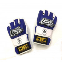 Перчатки для mma danger competition gloves bu/wh