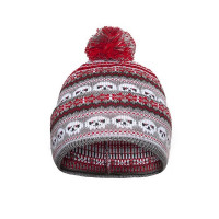 Спортивная шапка-маска Черепа светлая от Варгградъ
