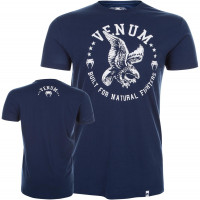 Футболка venum natural fighter - eagle blue
