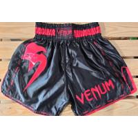 Шорты для тайского бокса venum giant 2 black red