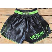 Шорты для тайского бокса venum muay thai black