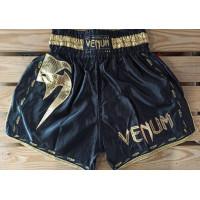 Шорты для тайского бокса venum giant 2 black gold