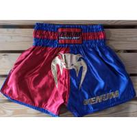 Шорты для тайского бокса venum training camp red blue