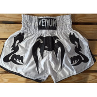 Шорты для тайского бокса venum bangkok inferno white