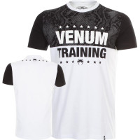 Футболка VENUM TRAINING T-SHIRT - WHITE
