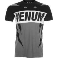 Футболка VENUM REVENGE T-SHIRT GREY BLACK