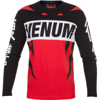 Футболка с длинным рукавом venum revenge t-shirt red
