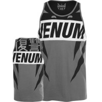 Майка venum revenge t-shirt grey black