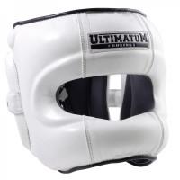 Шлем с бамперной защитой ultimatum gen3facebar whiteforce