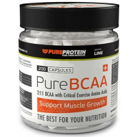 PureProtein BCAA 200 капсул