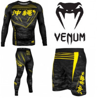 Спортивный комплект Venum okinawa 2.0 black yellow