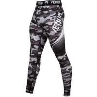 Компрессионные штаны venum camo hero spats - grey
