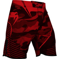 Шорты venum camo hero fightshorts - red
