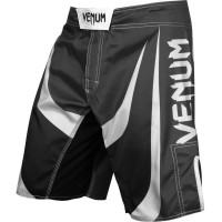 Шорты venum predator fightshorts - black/white