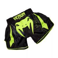 Шорты для тайского бокса venum sharp muay thai black yellow