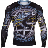 Рашгард venum rtw rashguards - black