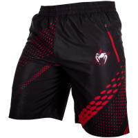 Шорты VENUM RAPID FITNESS SHORTS-BLACK/RED