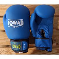Детские боксерские перчатки Fowad blue