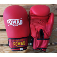 Детские боксерские перчатки Fowad red