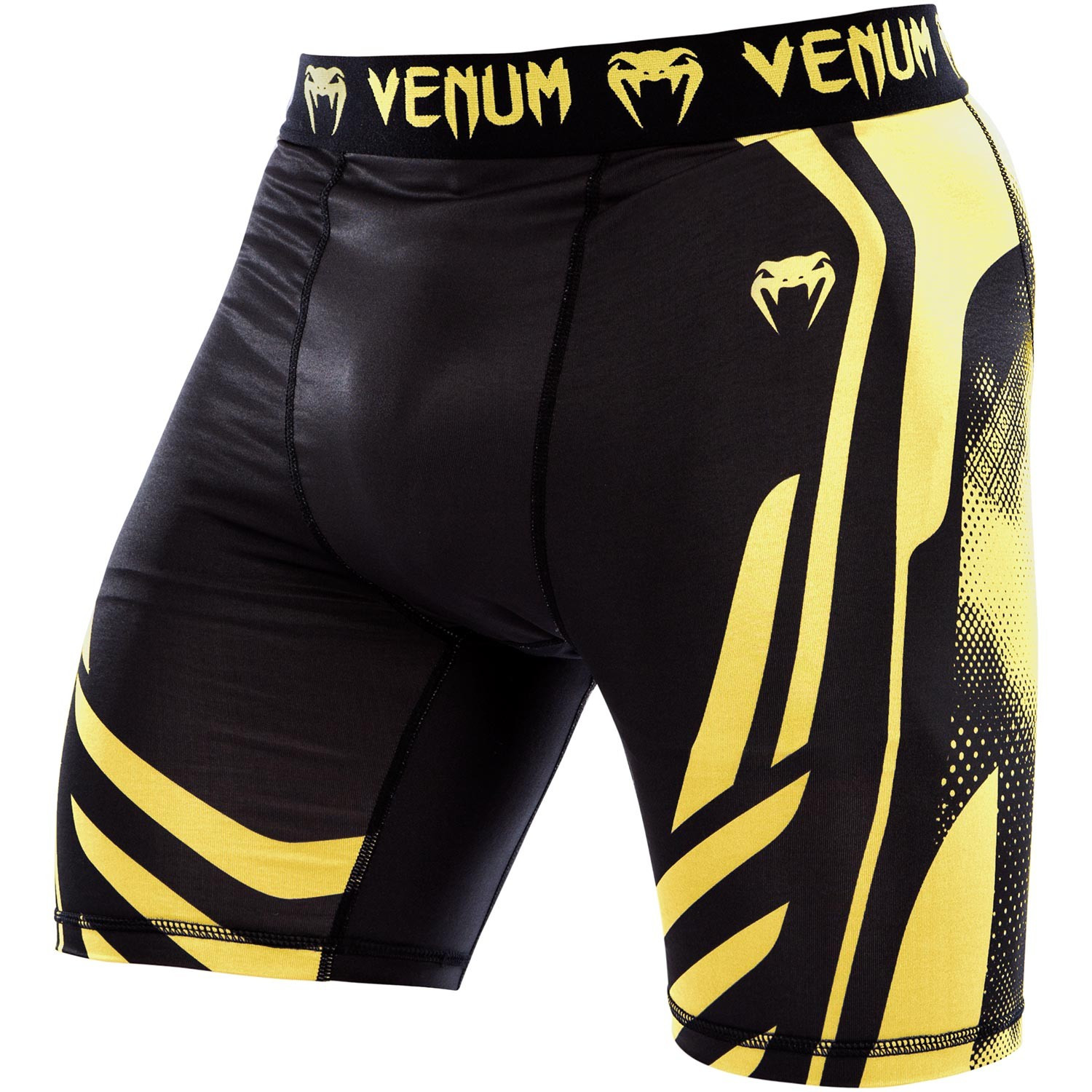 Valetudo шорты venum technical shorts - black/yellow
