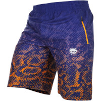 Шорты venum tropical fitness shorts - blue/orange