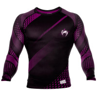 Рашгард VENUM RAPID RASHGUARDS LONG SLEEVES-BLACK/RED