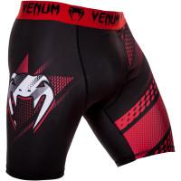 Компрессионные шорты venum rapid vale tudo shorts - black/red