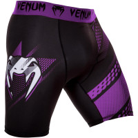 Компрессионные шорты venum rapid valetudo shorts - black/purple