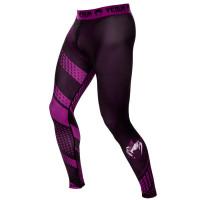 Компрессионные штаны venum rapid spats - black/purple
