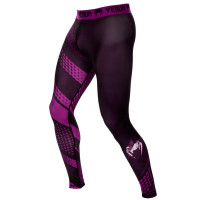 Спортивные штаны venum rapid spats - black/purple