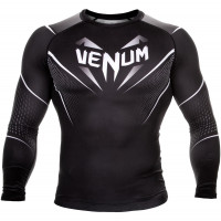 Рашгард venum eyes rashguard - black