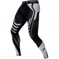 Спортивные штаны venum technical spats - black/grey