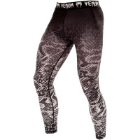 Спортивные штаны venum tropical spats - black/grey