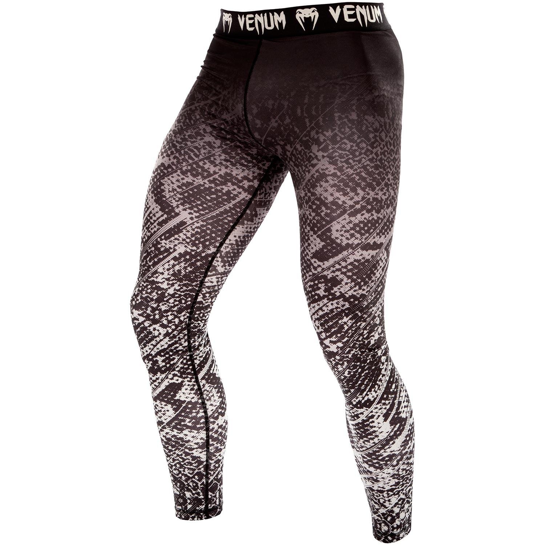 Спортивные штаны venum tropical spats - black/grey