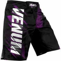 Шорты venum rapid fight shorts - black/purple